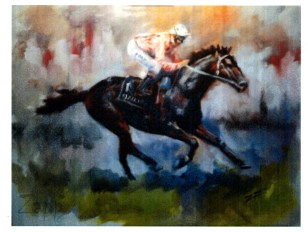Racing Horse