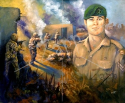 Corporal Cameron Baird VC, MG